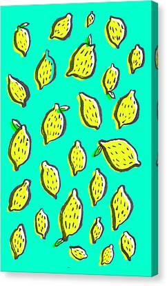 Limones De Primavera Canvas Print by Studio Sananikone