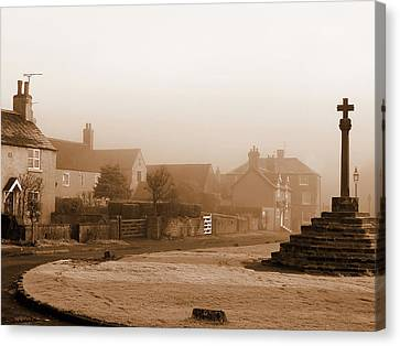 Linby Village Canvas Print by Graham Taylor