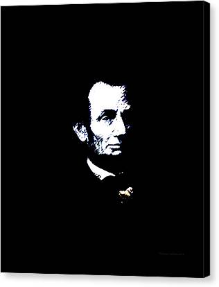 Lincoln Always With Us Canvas Print