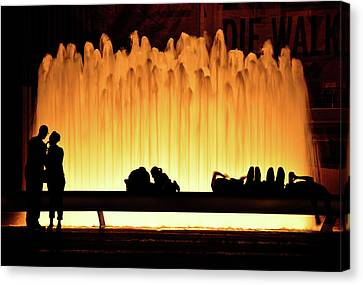 Lincoln Center Fountain Canvas Print