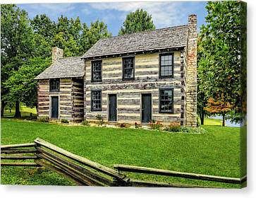 Lincoln Heritage House Elizabethtown Kentucky Canvas Print by Frank J Benz