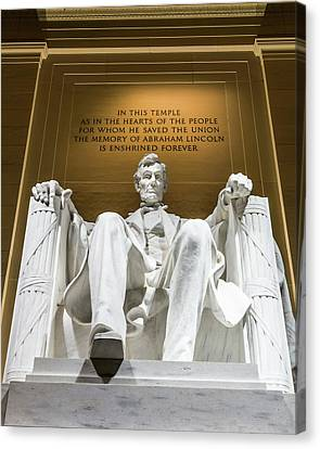 Canvas Print - Lincoln Memorial 2 by Larry Marshall
