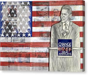 Lincoln Canvas Print by Yvonne Dagger