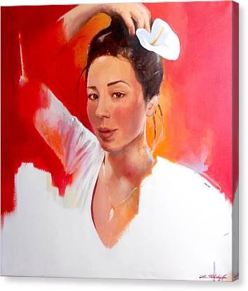 Linda Lightbody Canvas Print