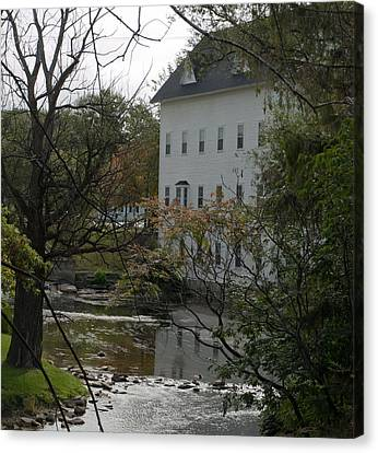 Linden Mill Pond Canvas Print