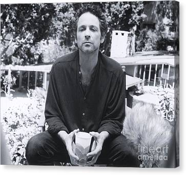 Lindsey Buckingham - 1994 Canvas Print by The Titanic Project