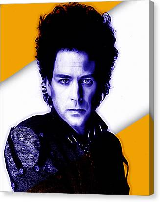 Lindsey Buckingham Collection Canvas Print by Marvin Blaine
