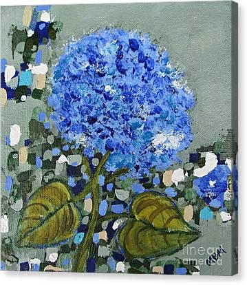 Lindsey's Flower Canvas Print