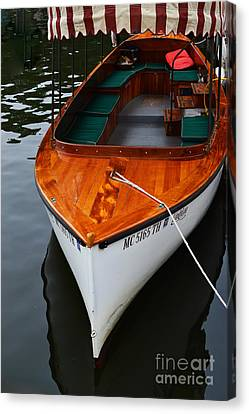 Lindy Lou Wood Boat Canvas Print