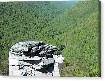 Lindy Point Overlook In Summer Canvas Print