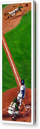 Line Drive Canvas Print by Harry West