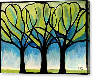 Lineage  Canvas Print by Elizabeth Robinette Tyndall