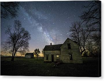 Canvas Print featuring the photograph Linear by Aaron J Groen