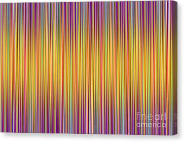 Canvas Print featuring the digital art Lines 102 by Bruce Stanfield