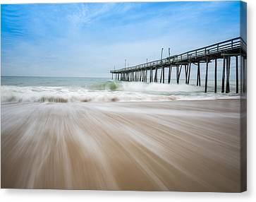Outer Banks North Carolina Pier  Canvas Print