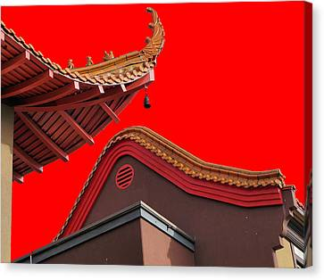 Lingyen Mountain Temple 38 Canvas Print by Lawrence Christopher