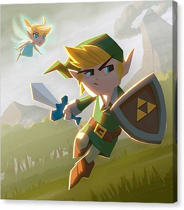 Link Canvas Print by Adam Ford