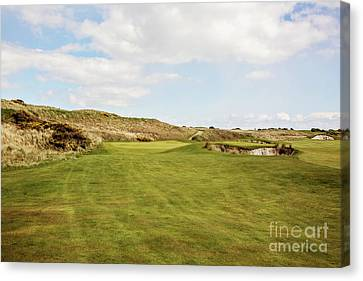 Links By The Sea Canvas Print