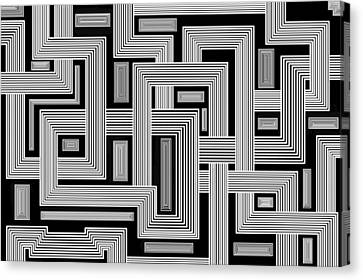 Links Too Canvas Print by Christopher Rowlands
