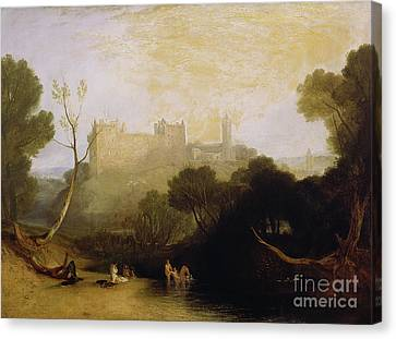 Linlithgow Palace Canvas Print by Joseph Mallord William Turner