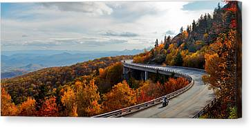 Linn Cove Viaduct Canvas Print