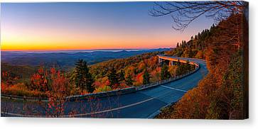 Linn Cove Viaduct Canvas Print by Taylor Franta