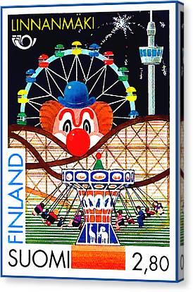 Linnanmaki Amusement Park Canvas Print