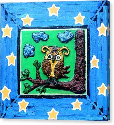 Lint Owl Canvas Print