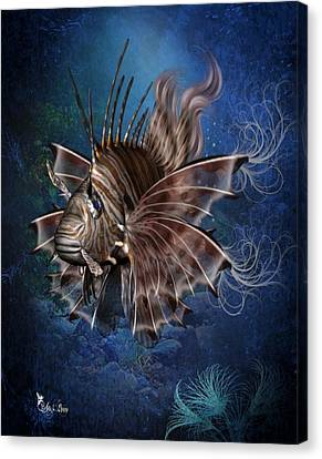 Lion Fish Canvas Print