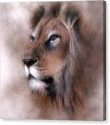 Lion King Canvas Print by Jackie Flaten