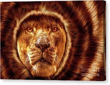 Lion Lady   -1 Canvas Print by Prar Kulasekara