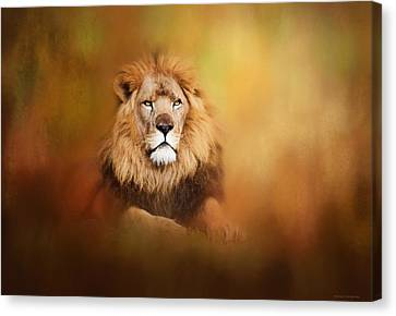 Lion - Pride Of Africa I - Tribute To Cecil Canvas Print