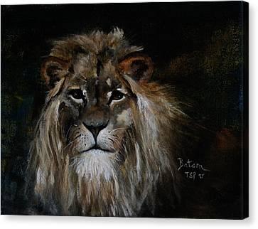 Sargas The Lion Canvas Print by Barbie Batson