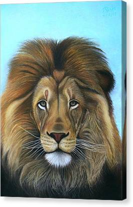 Lion - The Majesty Canvas Print