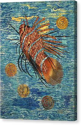 Lionfish Canvas Print by Lynda K Boardman