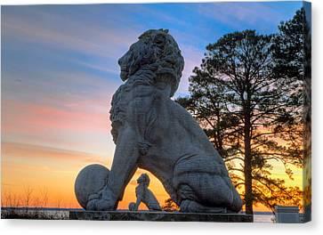Lions Bridge At Sunset Canvas Print