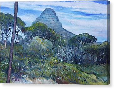 Lions Head Cape Town South Africa 2016 Canvas Print by Enver Larney