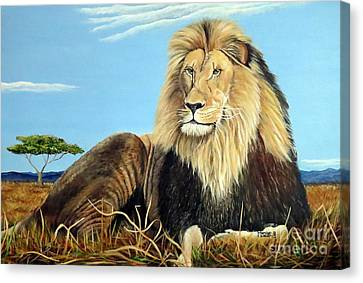 Canvas Print - Lions Pride by Marilyn McNish