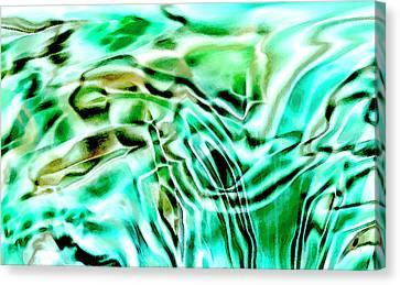 Liquid Canvas Print by Eileen Shahbazian