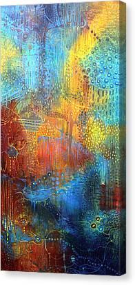 Liquid Gravitation Canvas Print by Lolita Bronzini