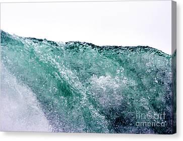 Canvas Print featuring the photograph Liquid Horizon by Dana DiPasquale