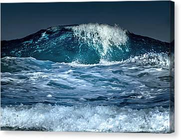 Liquid Mountain Canvas Print by Stelios Kleanthous
