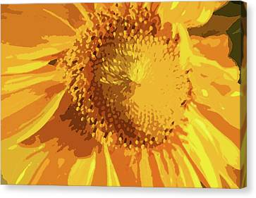 Liquid Petals -  Canvas Print