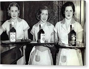 Liquor Is Served - Prohibition Ends 1933 Canvas Print