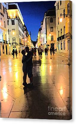 Lisbon Love Canvas Print