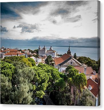 Lisbon Overlook Canvas Print
