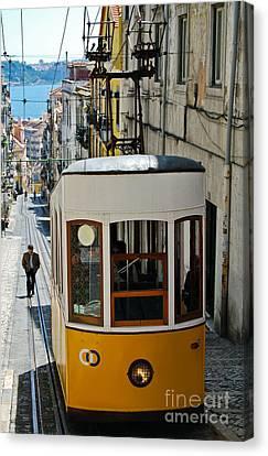 Lisbon - Portugal - Elevador Da Bica Canvas Print