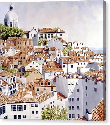Lisbon - Prints Available - Original Oil Sold  Canvas Print