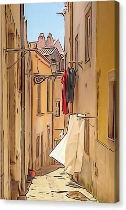Lisbon Street #2 Canvas Print