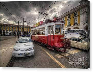 Lisbon Tram Canvas Print by Yhun Suarez